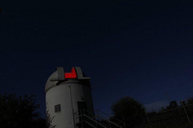 Agriturismo Maremma La cupola dell'osservatorio astronomico di Roselle